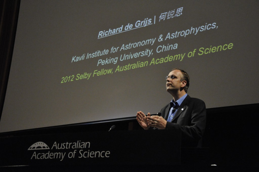 Dr. Richard de Grijs, Kavli Institute of Astronomy & Astrophysics
