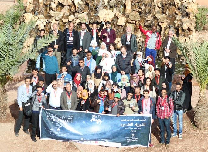First Arab Winter School for Astrophysics Credits: FAWSA