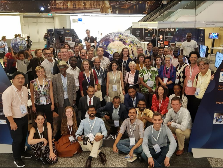 Some participants of the Focus Meeting on Astronomy for Development at the IAU General Assembly 2018