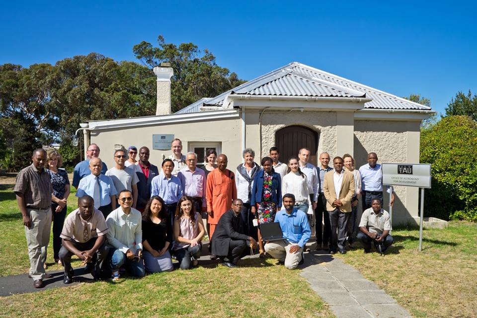 Members of the OAD Steering Committee, staff, and representatives from Regional Offices & Office of Astronomy Outreach