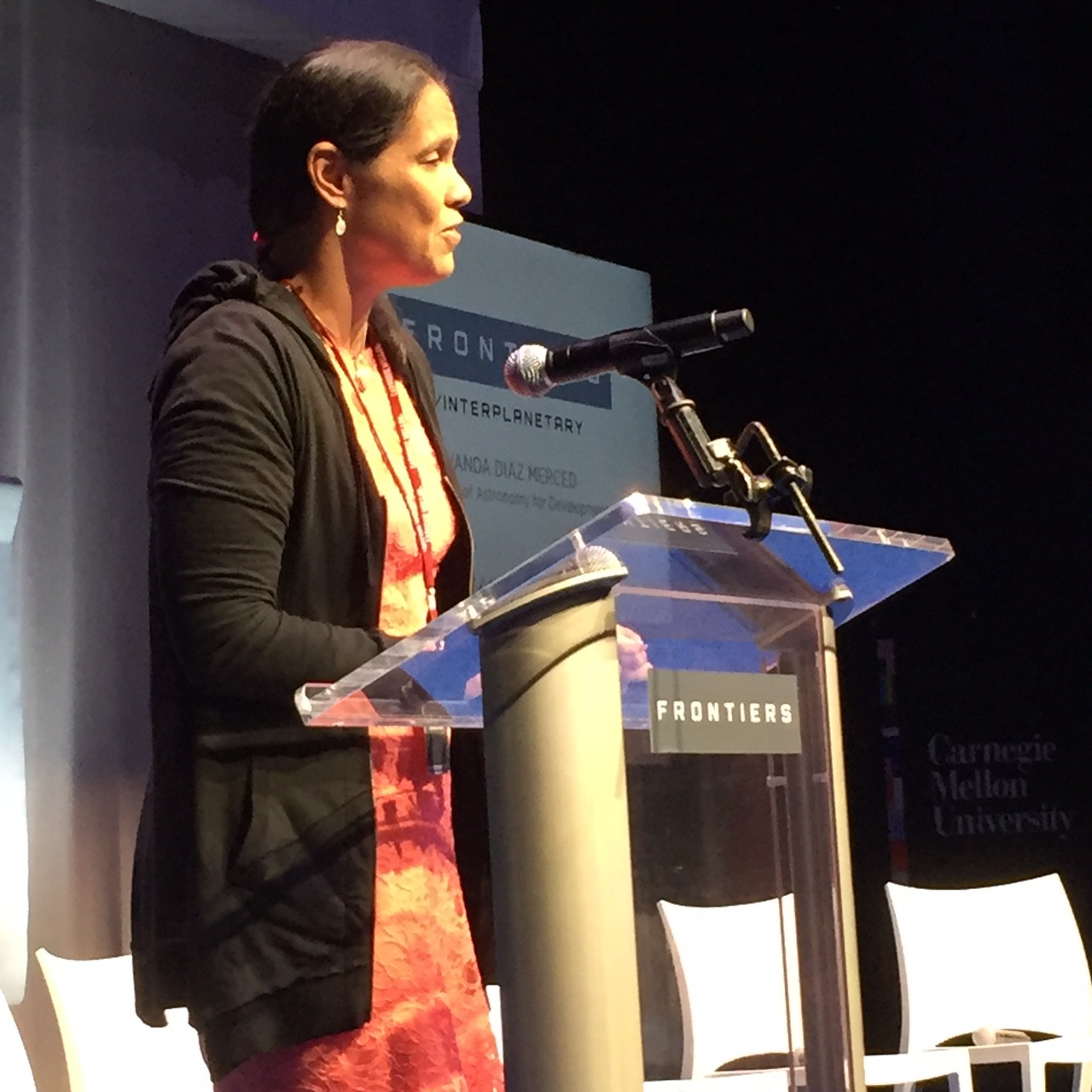 White Trash In The White House Talks Education: Wanda Diaz At White House Frontiers Conference