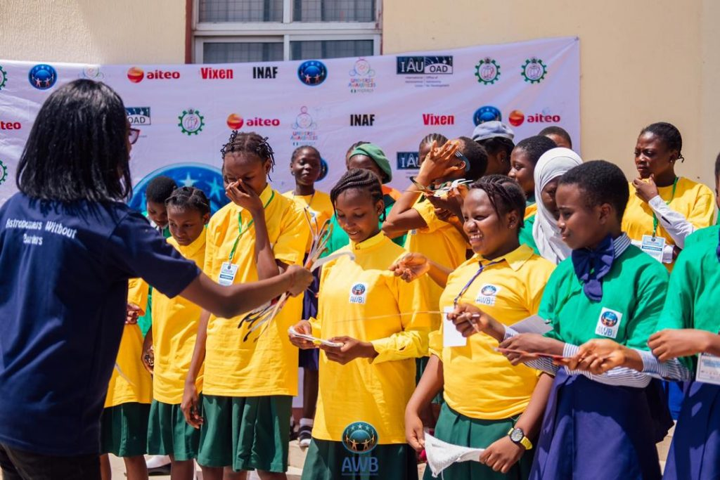 2019 girls astro camp in Nigeria