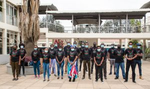 Participants of the DARA Big Data school and hackathon in Kenya