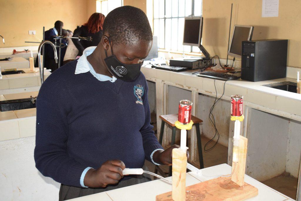 EMEJA astro STEM workshops in Kenya