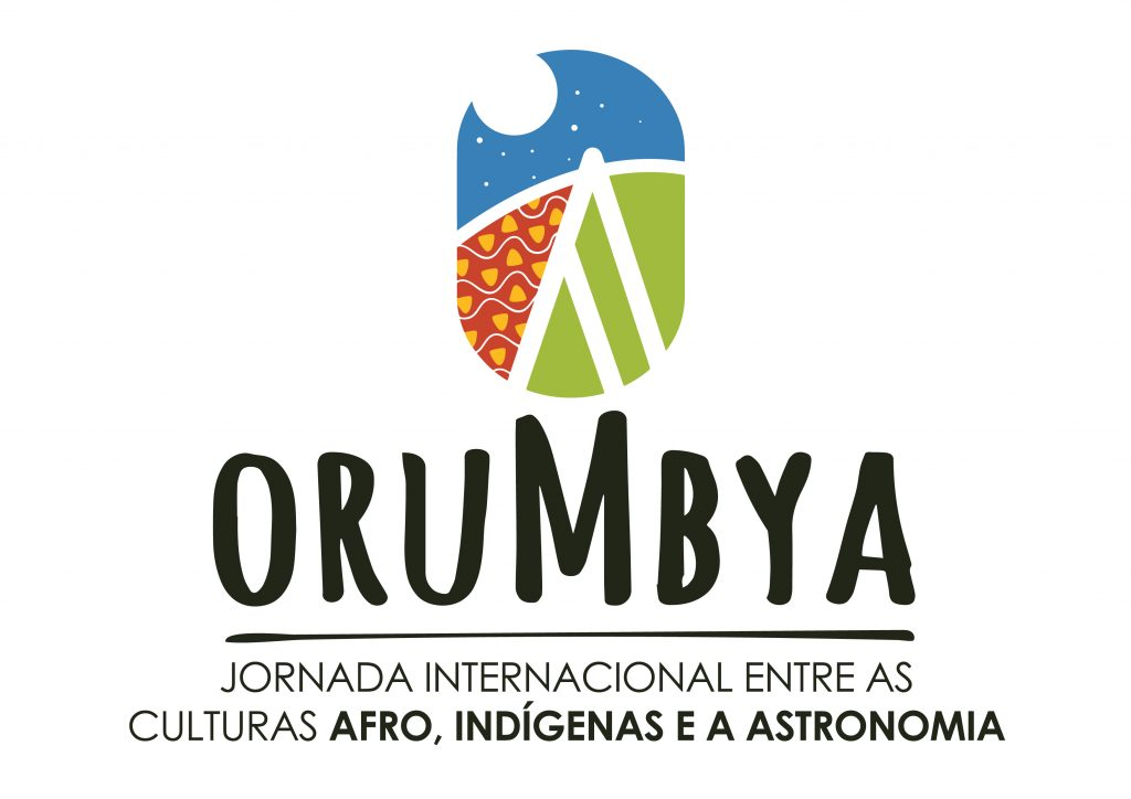 Logo of OruMbya project on astronomy and afro, indigenous culture in Brazil