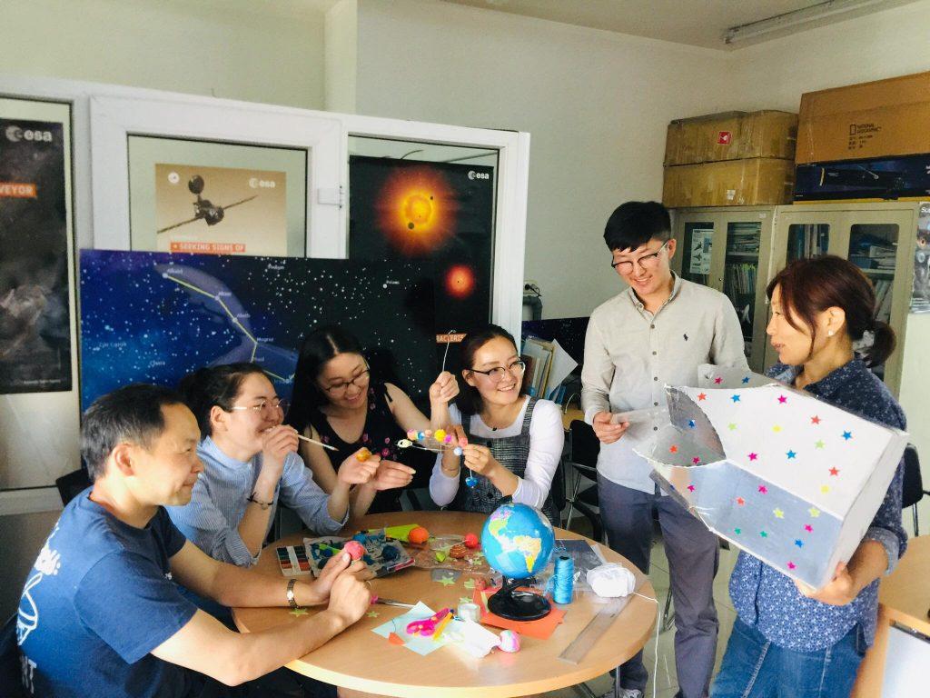 Astronomy Themed Scientific Box